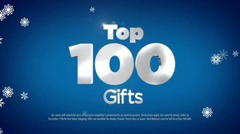 Walmart TV Spot, 'Top 100 Gifts' Feat. Melissa Joan Hart, Anthony Anderson - Thumbnail 9