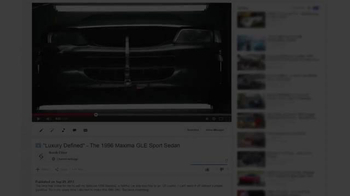 Nissan TV Spot, '1996 Maxima Luxury Restored: Luke Aker''s Story' - Thumbnail 1