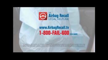 The Airbag Recall Legal Helpline TV Spot, 'Airbag Explosion' - Thumbnail 10
