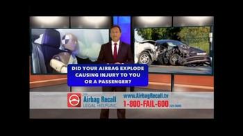 The Airbag Recall Legal Helpline TV Spot, 'Airbag Explosion' - Thumbnail 2