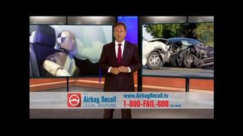 The Airbag Recall Legal Helpline TV Spot, 'Airbag Explosion' - Thumbnail 3