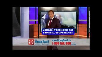 The Airbag Recall Legal Helpline TV Spot, 'Airbag Explosion' - Thumbnail 4