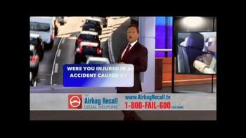The Airbag Recall Legal Helpline TV Spot, 'Airbag Explosion' - Thumbnail 5