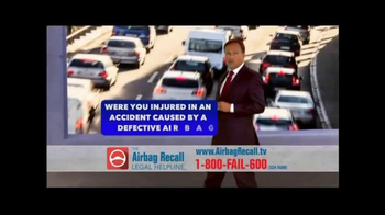 The Airbag Recall Legal Helpline TV Spot, 'Airbag Explosion' - Thumbnail 6