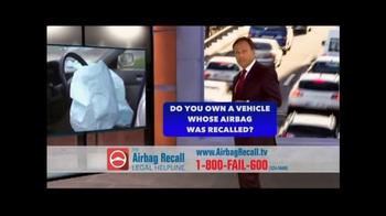 The Airbag Recall Legal Helpline TV Spot, 'Airbag Explosion' - Thumbnail 7