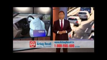The Airbag Recall Legal Helpline TV Spot, 'Airbag Explosion' - Thumbnail 8