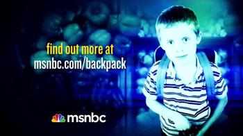 MSNBC.com TV Spot, 'Backpack Program' - Thumbnail 10