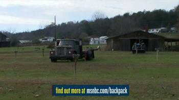 MSNBC.com TV Spot, 'Backpack Program' - Thumbnail 2