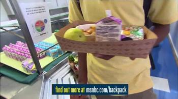 MSNBC.com TV Spot, 'Backpack Program' - Thumbnail 3