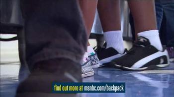 MSNBC.com TV Spot, 'Backpack Program' - Thumbnail 4