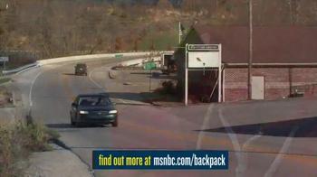 MSNBC.com TV Spot, 'Backpack Program' - Thumbnail 5