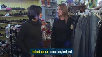MSNBC.com TV Spot, 'Backpack Program' - Thumbnail 6