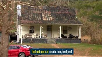 MSNBC.com TV Spot, 'Backpack Program' - Thumbnail 7