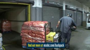 MSNBC.com TV Spot, 'Backpack Program' - Thumbnail 9
