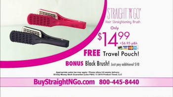 Straight N Go TV Spot, 'Sleek Straight Hair' - Thumbnail 10