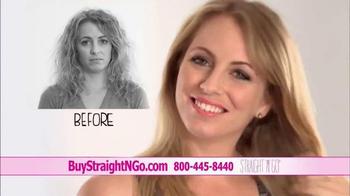 Straight N Go TV Spot, 'Sleek Straight Hair' - Thumbnail 5