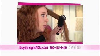 Straight N Go TV Spot, 'Sleek Straight Hair' - Thumbnail 8