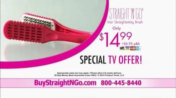 Straight N Go TV Spot, 'Sleek Straight Hair' - Thumbnail 9