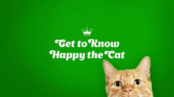 happyishappy.com TV Spot, 'Get to Know Happy the Cat'