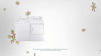 Lowe's Black Friday Deals TV Spot, 'Washers and Dryers' - Thumbnail 4