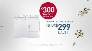 Lowe's Black Friday Deals TV Spot, 'Washers and Dryers' - Thumbnail 5
