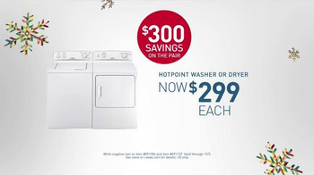 Lowe's Black Friday Deals TV Spot, 'Washers and Dryers' - Thumbnail 6