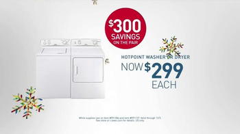 Lowe's Black Friday Deals TV Spot, 'Washers and Dryers' - Thumbnail 9