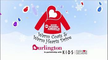 Burlington Coat Factory TV Spot, 'Donate a Coat' - Thumbnail 9