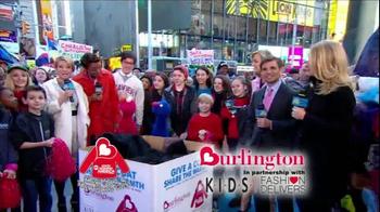 Burlington Coat Factory TV Spot, 'Donate a Coat' - Thumbnail 5