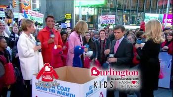 Burlington Coat Factory TV Spot, 'Donate a Coat' - Thumbnail 7