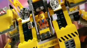 The LEGO Movie Emmet's Construct-O-Mech TV Spot, 'Be a Master Builder'