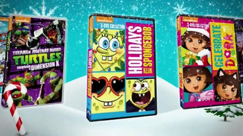Nickelodeon Original Programming DVDs TV Spot, 'This Holiday Season'