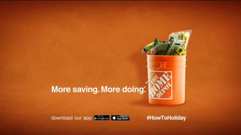 The Home Depot TV Spot, 'The Holiday Clock Is Ticking' - Thumbnail 8