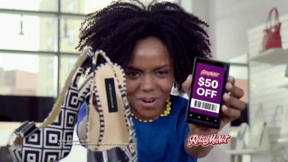 Retailmenot.com TV Commercial, 'Tis the Season to Celebrate Black Friday Deals'