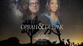 Oprah and Deepak's Meditation Transformation Trilogy TV Spot, 'Holidays' - 13 commercial airings