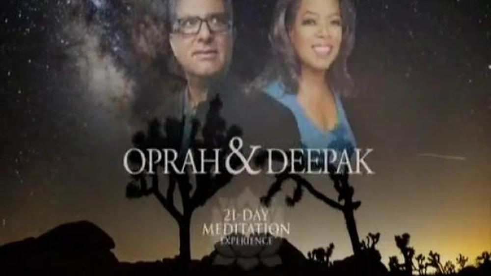 Oprah and Deepak's Meditation Transformation Trilogy TV Commercial, 'Holidays'