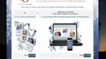 Oprah and Deepak's Meditation Transformation Trilogy TV Spot, 'Holidays' - Thumbnail 7