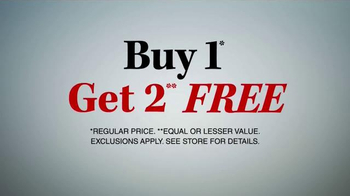 JoS. A. Bank TV Spot, 'One Day Only, Buy One Get Two Free' - Thumbnail 6