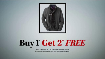 JoS. A. Bank TV Spot, 'One Day Only, Buy One Get Two Free' - Thumbnail 7