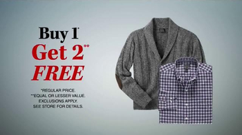 JoS. A. Bank TV Spot, 'One Day Only, Buy One Get Two Free' - Thumbnail 8