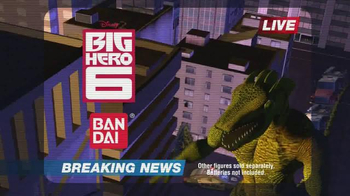 Big Hero 6 Deluxe Flying Baymax TV Spot, 'Monster Battle' - Thumbnail 9