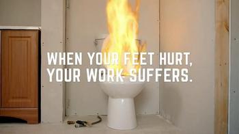 Timberland PRO Hyperion TV Spot, 'Fireplace Malfunction' - Thumbnail 8