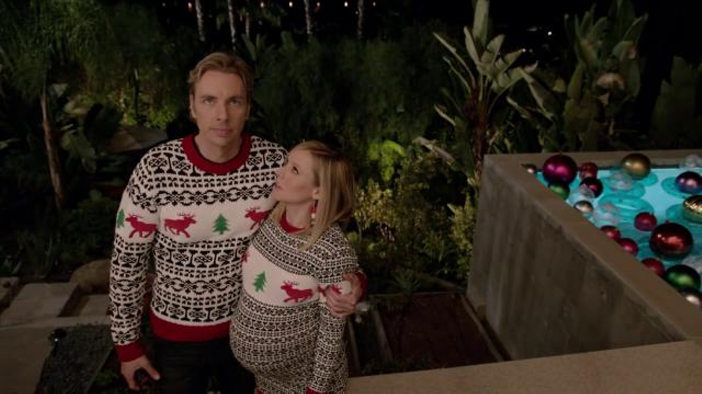 Samsung TV Commercial, 'Home for the Holidays' Featuring Kristen Bell