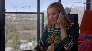 Samsung TV Spot, 'Home for the Holidays' Featuring Kristen Bell - Thumbnail 4
