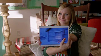 Samsung TV Spot, 'Home for the Holidays' Featuring Kristen Bell - Thumbnail 6