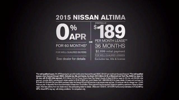 2015 Nissan Altima TV Spot, 'Migration' - Thumbnail 9