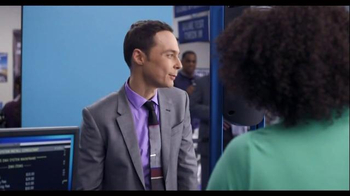 Intel RealSense TV Spot, 'Trip to the DMV' Featuring Jim Parsons - Thumbnail 4