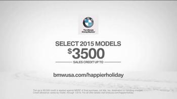 BMW Happier Holiday Event TV Spot, 'The Holiday Slalom' - Thumbnail 8