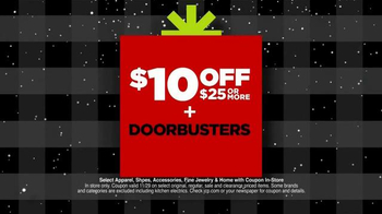 JCPenney Biggest Super Saturday of Them All TV Spot, 'Deals are Jingling' - Thumbnail 5