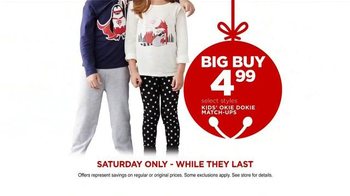 JCPenney Biggest Super Saturday of Them All TV Spot, 'Deals are Jingling' - Thumbnail 8